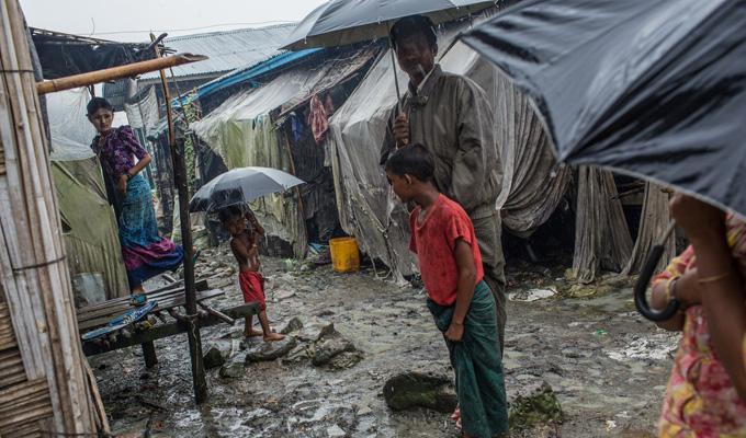 MYANMAR pluie