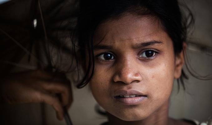 Myanmar enfant