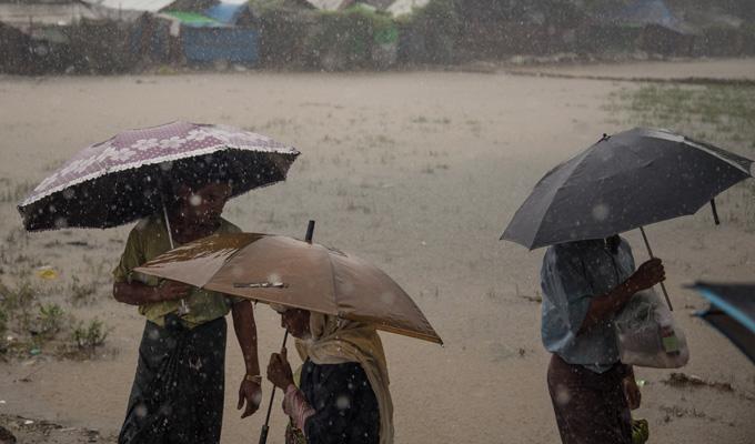 pluie myanmar
