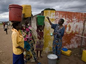 Programme de lutte contre le choléra à Kalémie (RDC)avec Solidarités International