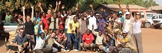 RCA kabo équipe humanitaire