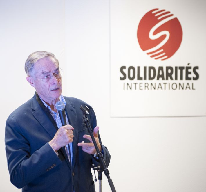 Alain Boinet bioforce Solidarités International