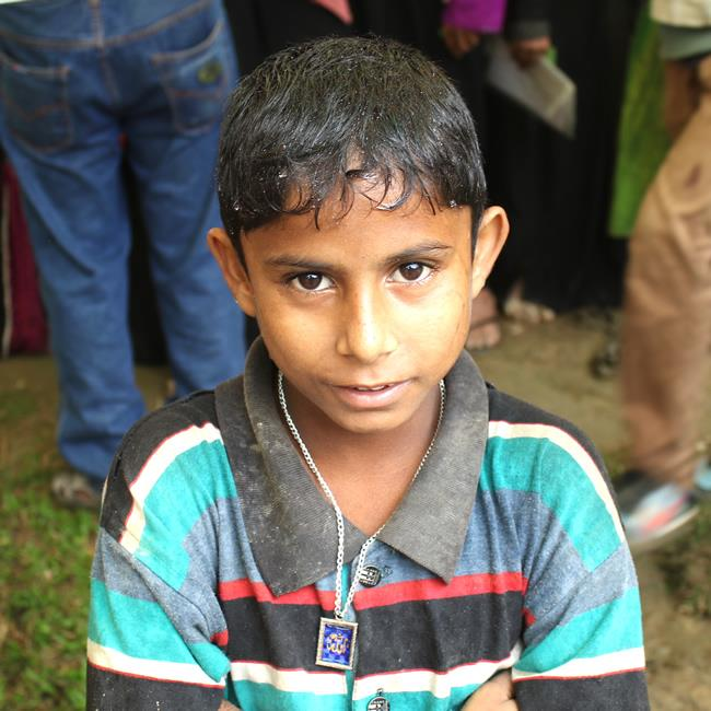 garçon rohingya