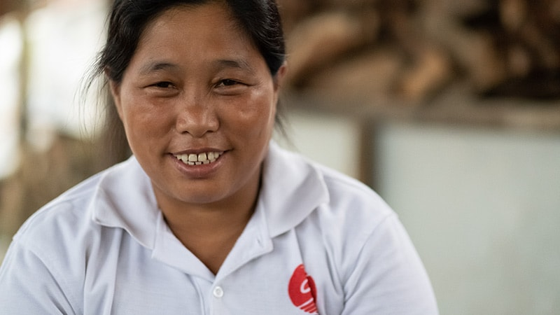 Kachin, Birmanie: Une vie de déplacée