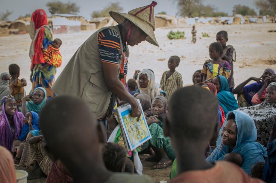 Cameroun sensibilisation hygiene