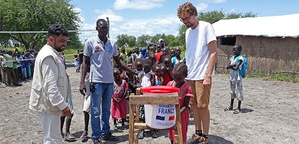 Baptiste Lorber Soudan du Sud