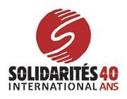 logo solidarités international 40 ans