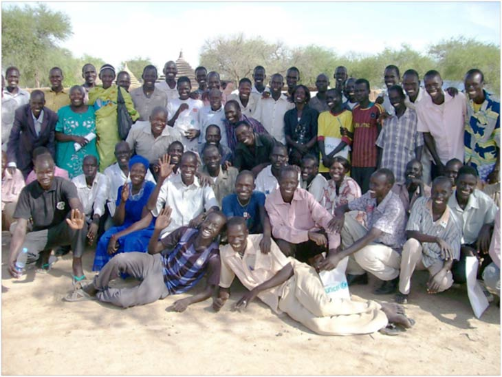 Catechists in training in Agok, South Sudan