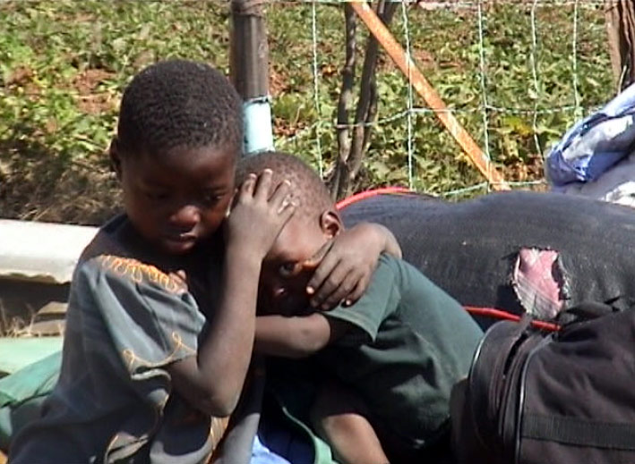 """Image result for zimbabwe army murambatsvina, Report Cover Photo: Still taken from the Solidarity Peace Trust video, """"Discarding the"""