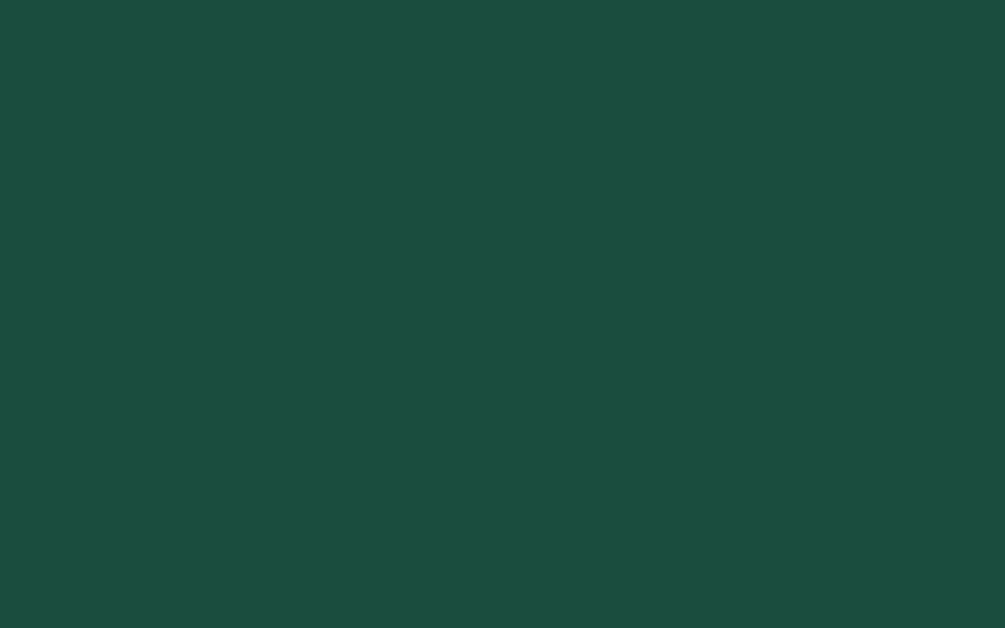 1440x900 English Green Solid Color Background