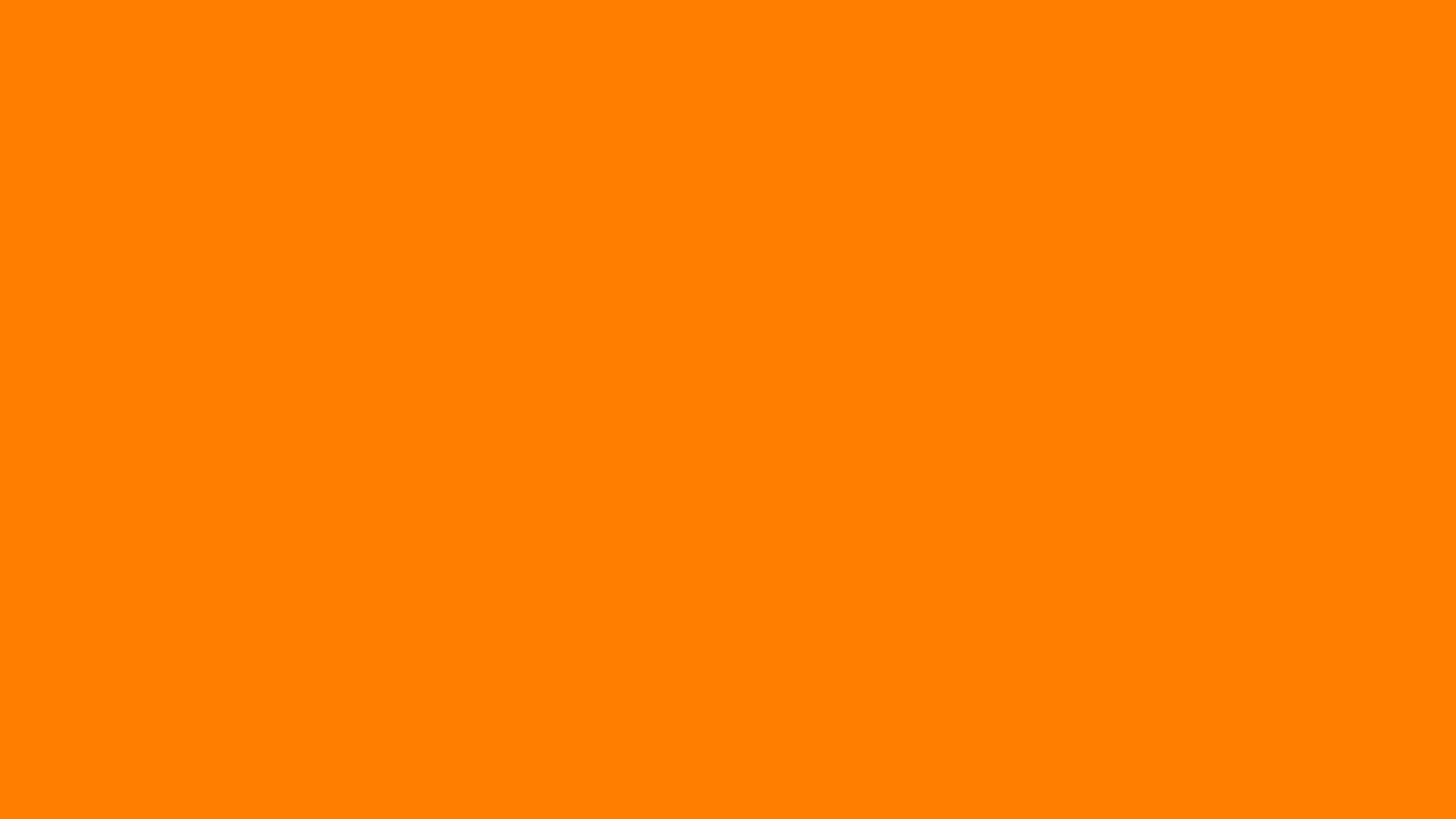1920x1080 amber orange solid