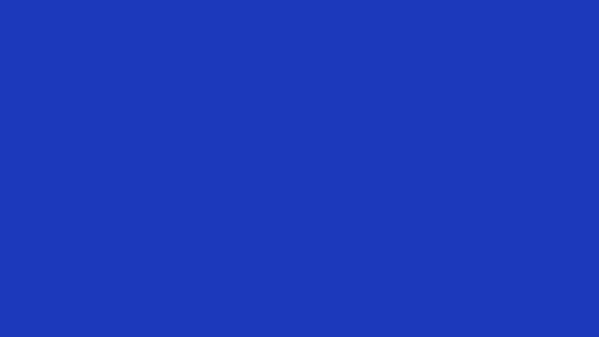 1920x1080 Persian Blue Solid Color Background