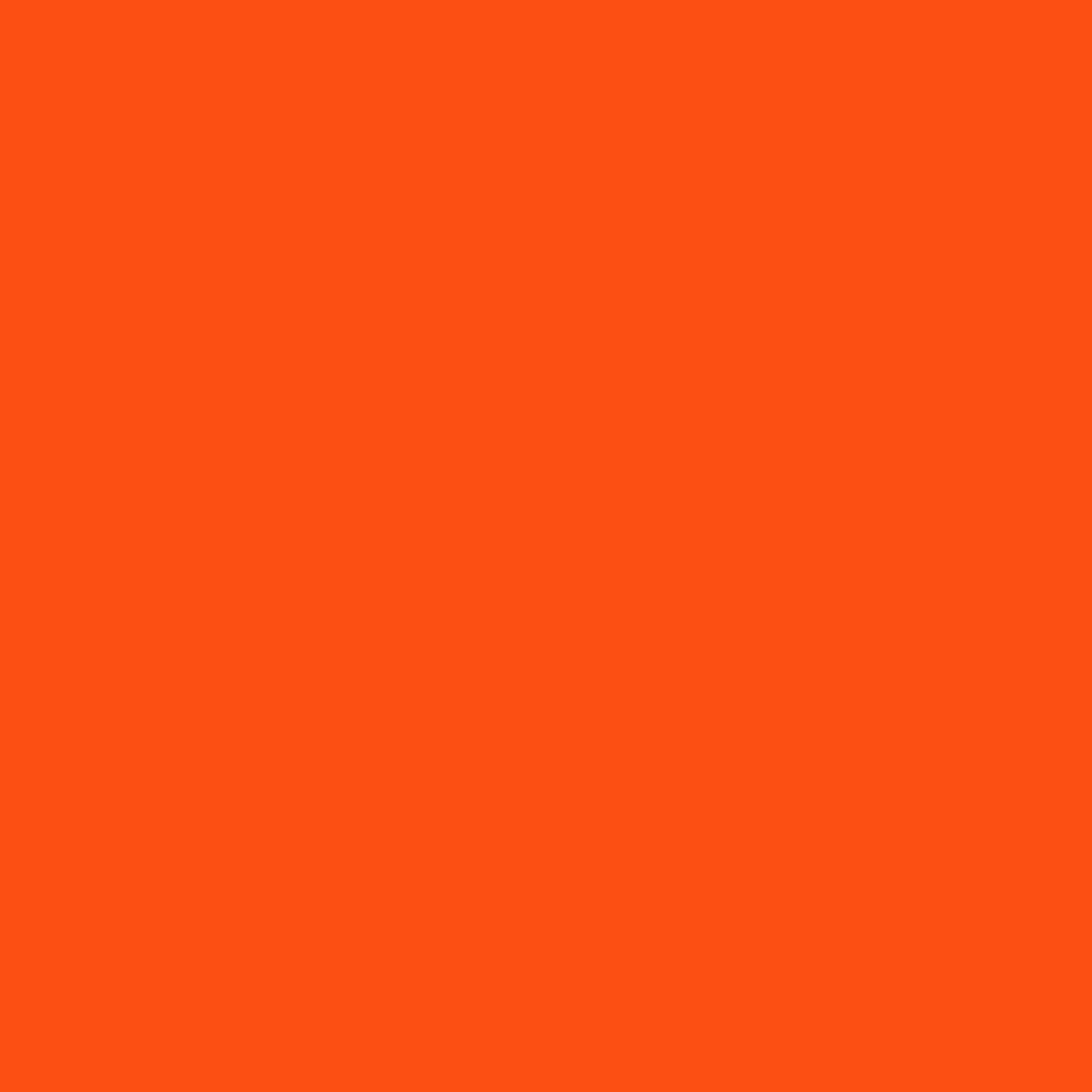 2048x2048 Orioles Orange Solid Color Background