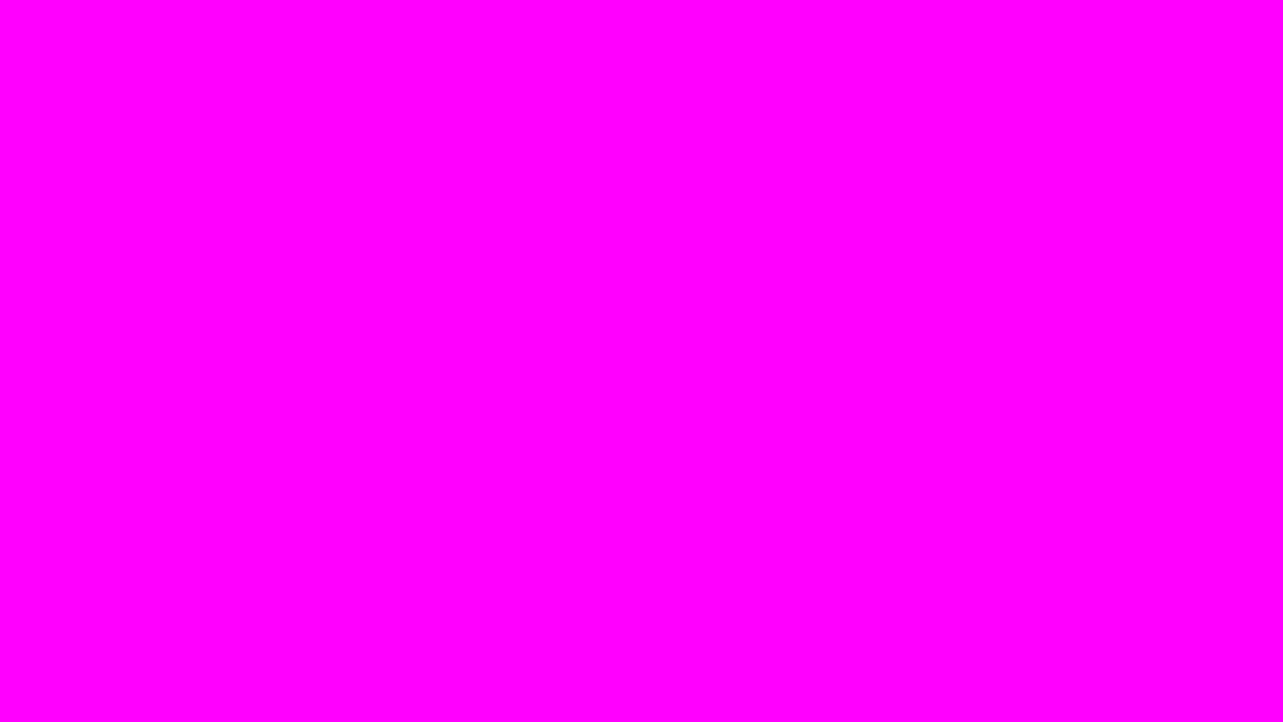 2560x1440 Magenta Solid Color Background