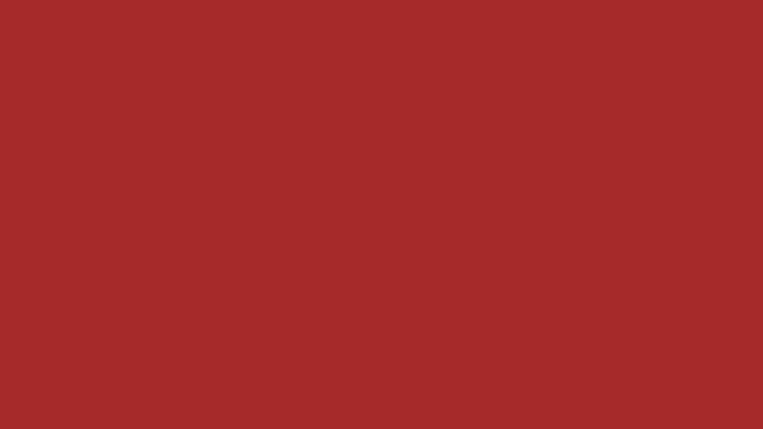 2560x1440 Redbrown Solid Color Background