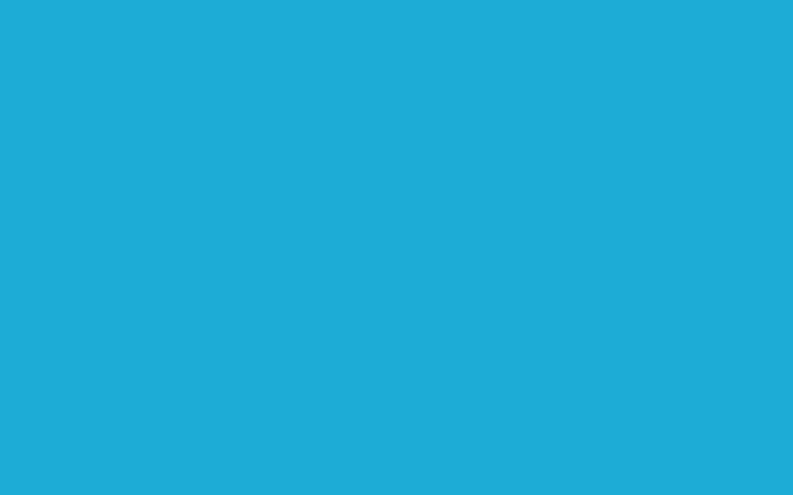 2560x1600 Bright Cerulean Solid Color Background