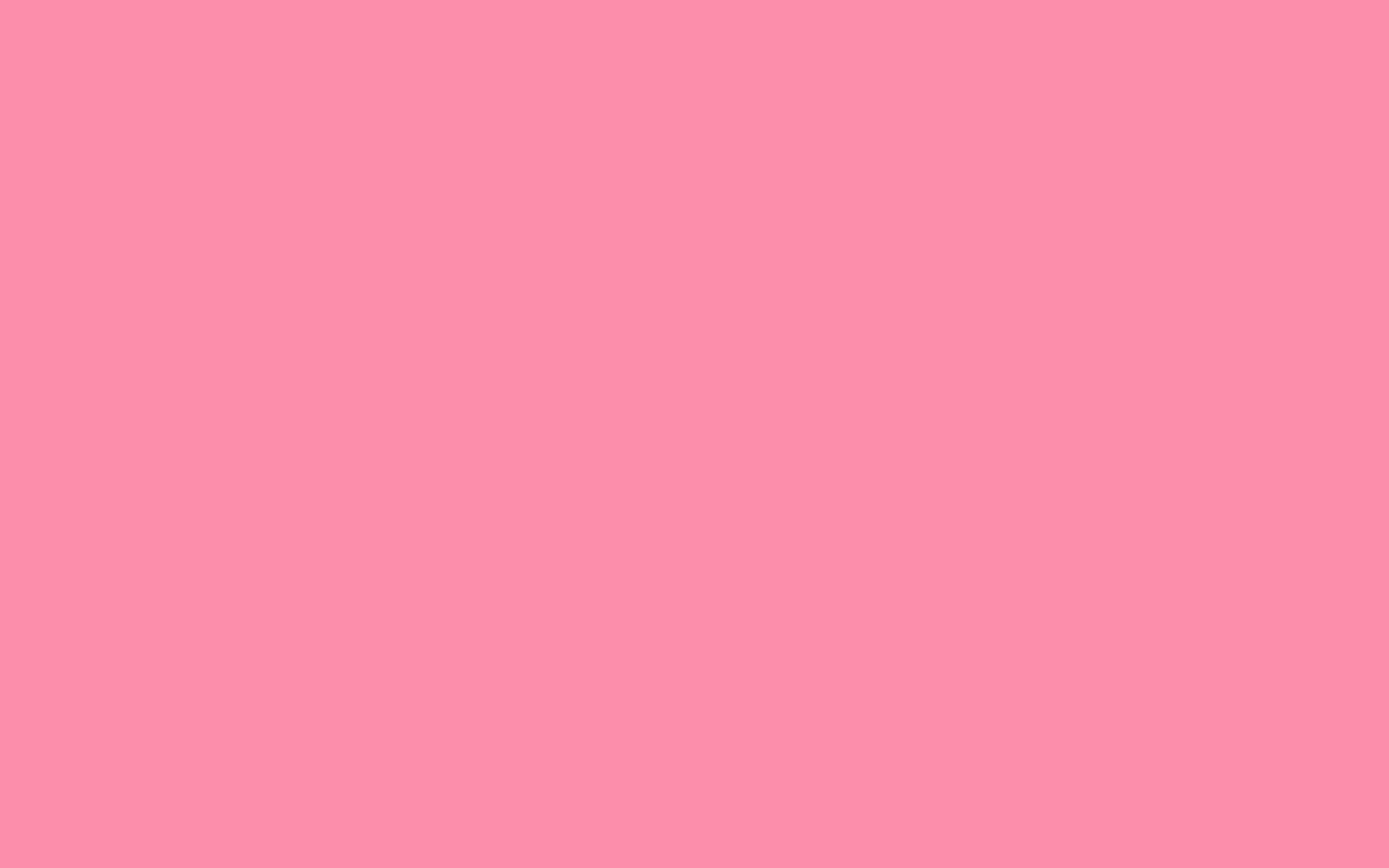 2880x1800 Flamingo Pink Solid Color Background