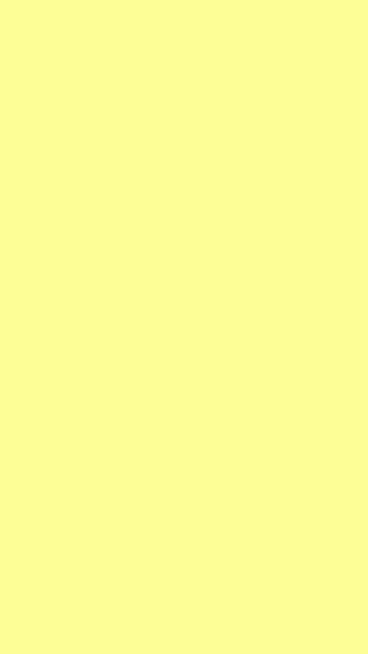 Hd Quality Wallpaper Download 750x1334 Pastel Yellow Solid Color Background