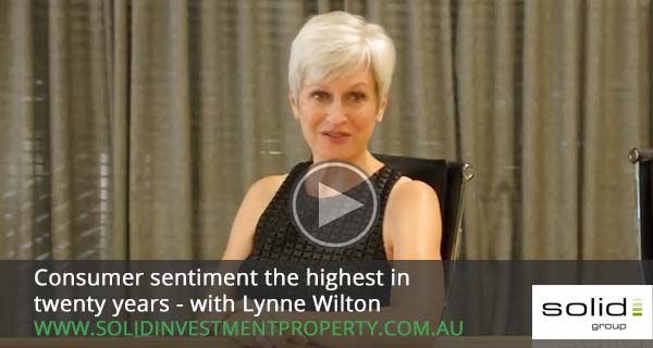 Consumer sentiment the highest in twenty years – with Lynne Wilton