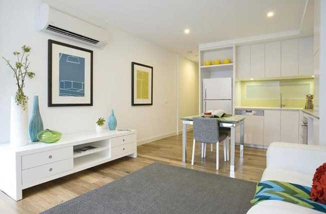 530/70 Nott Street Port Melbourne living and dining