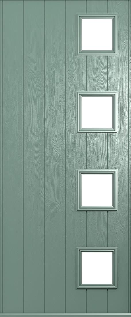 Chartwell Green Doors From Solidor  Front Composite Doors