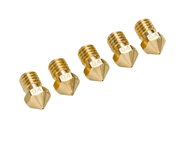 5 x Ultimaker Nozzle Pack 0.4mm