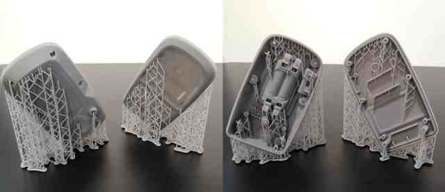 3D printed injection mould parts