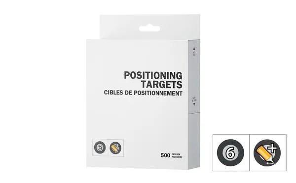 Peel 3D Positioning Targets Regular