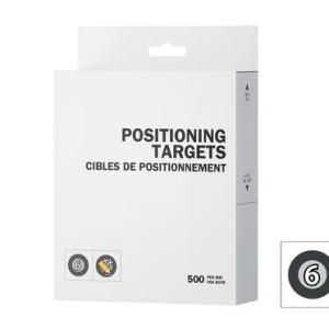 Peel 3D Positioning Targets Regular