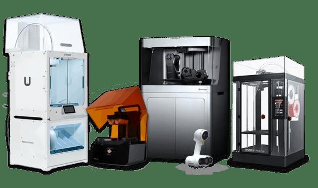 3D Printers 3D Scanners