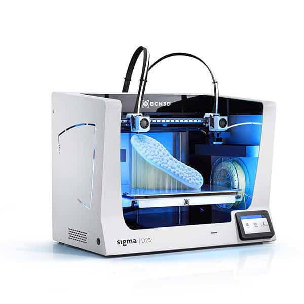BCN3D Sigma D25 3D Printer Printing with PVA Supports
