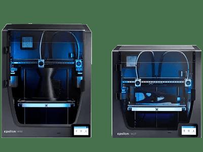 Epsilons 3D Printers Printing