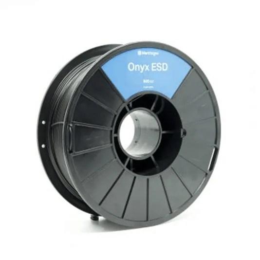 Onyx ESD safe filament spool