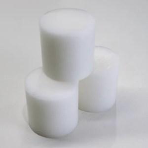 Pocket NC White Delrin Round (3 Pack)