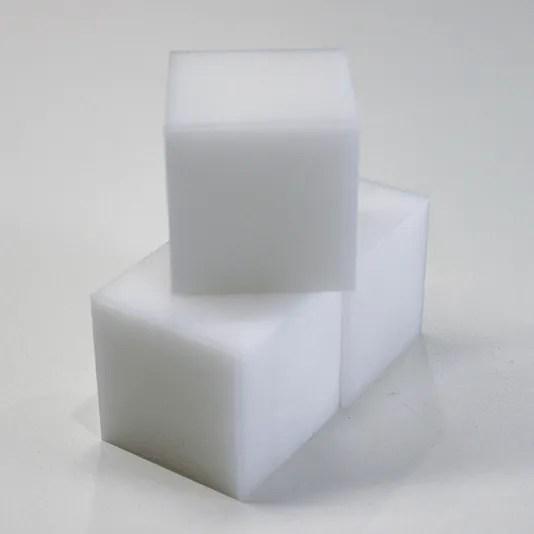 Pocket NC White Delrin Square (3 Pack)
