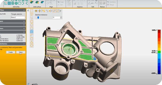 Peel 3d Software for Peel 2 CAD-S