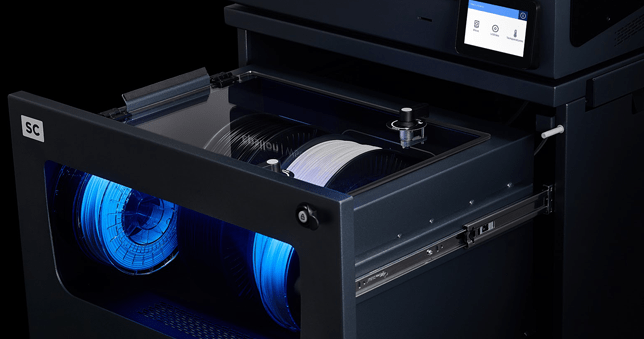 BCN3D Smart Cabinet material storage and display