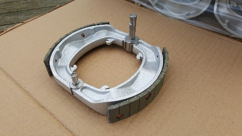 Brake Plate SLS Scanning