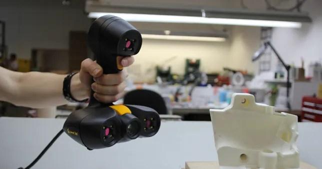 reverse engineering peel3d scanners