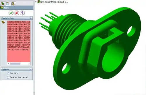 solidworks 2018 how to make an asembly virtual