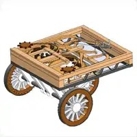 Self Propelled Cart >> The Self Propelled Solidworks Marketing Cart I Mean Da Vinci Cart