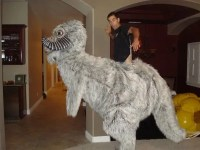 The Star Wars Tauntaun Costume With A Little Help from