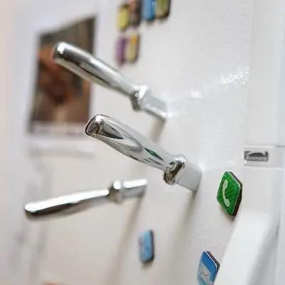 slay your insolent fridge with this killer magnet design solidsmack. Black Bedroom Furniture Sets. Home Design Ideas