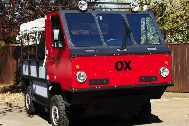 The Ox Flat-pack Truck Design for developing countries.