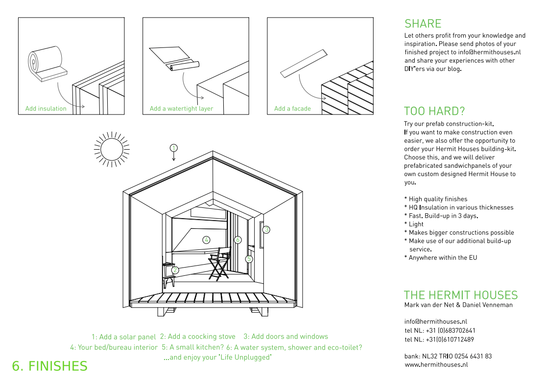 Hermit House: The Open Source DIY Micro-House You Can