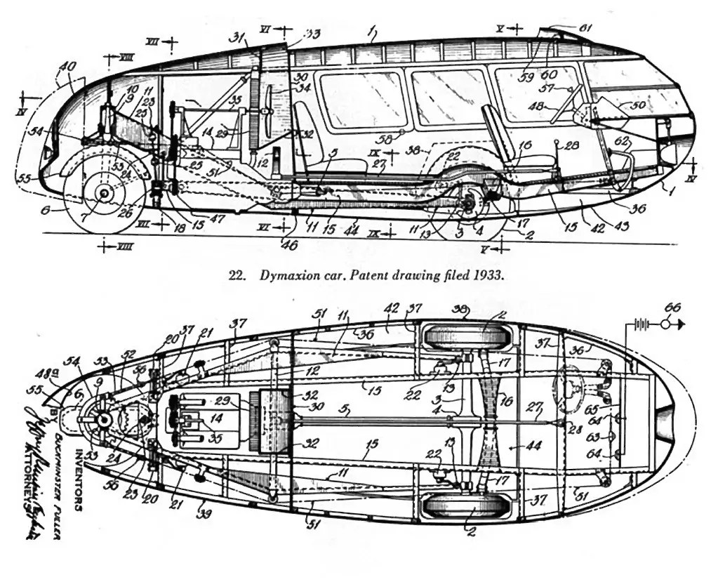 Buckminster Fuller's Three-Wheeled 1933 Dymaxion Car Hits