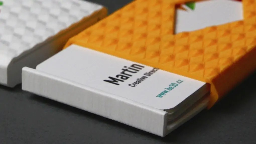 Model of the Week: 3D Printed Business Card Case - SolidSmack