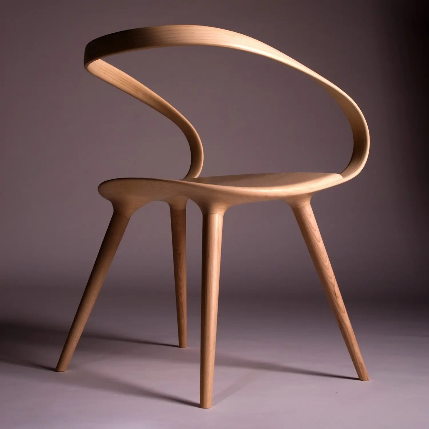 This Insane Bent Plywood Chair is Inspired by Modern