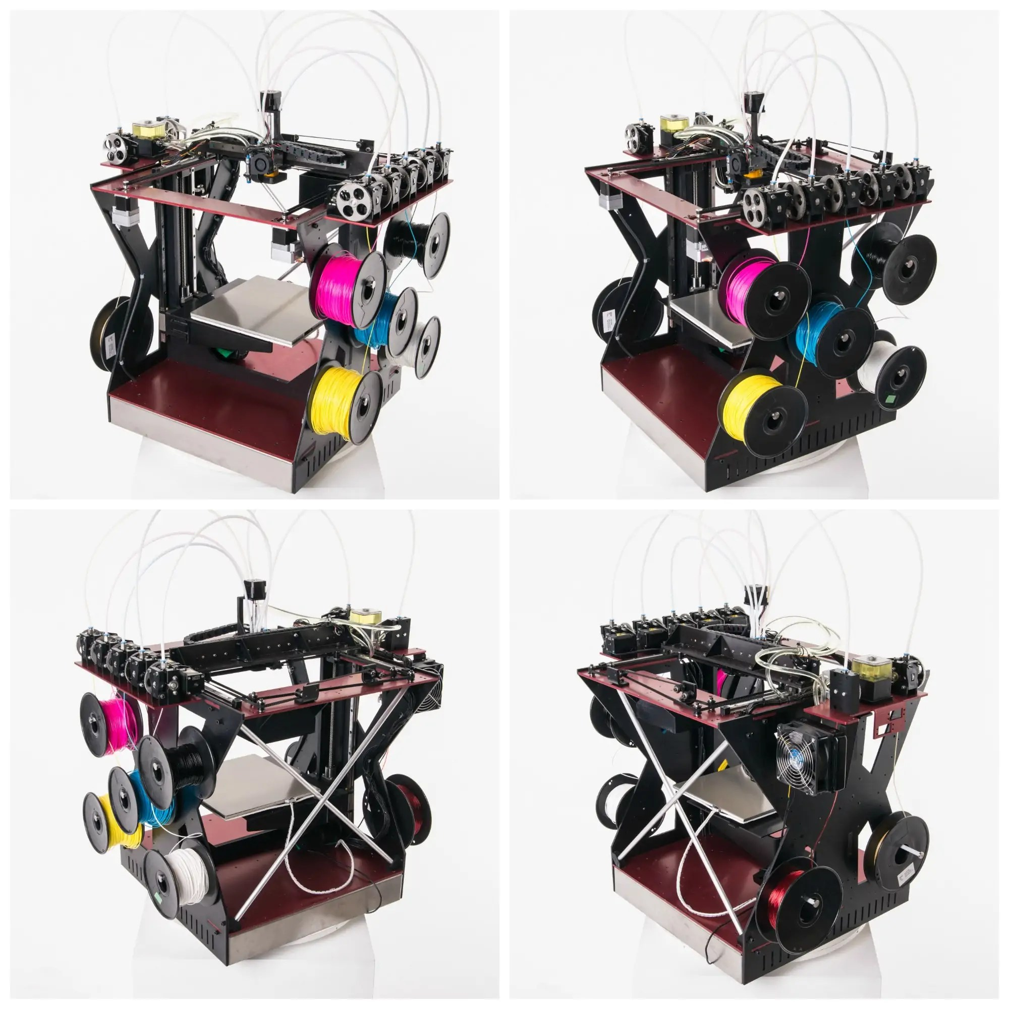 The Rova4D Is The Color Blending 3D Printer We've Always