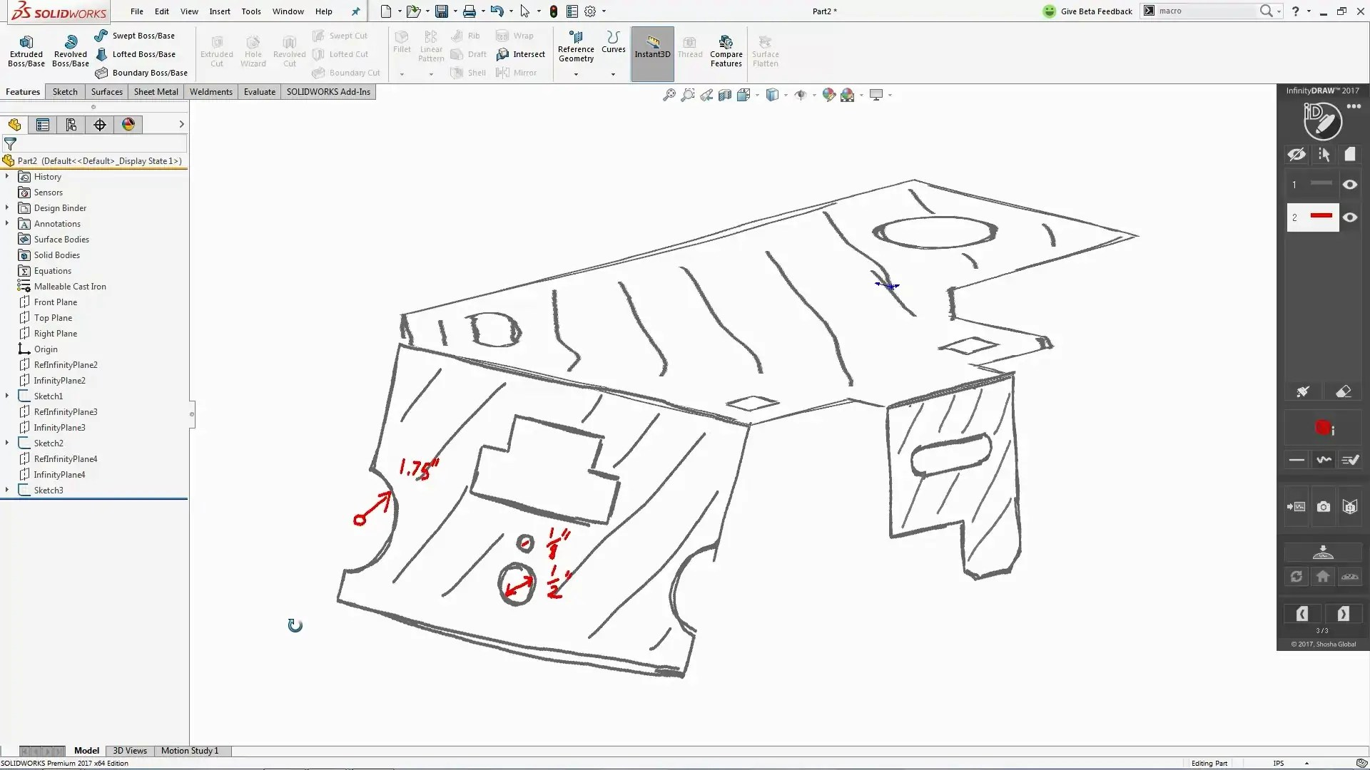 RedLine For SOLIDWORKS Add-In Finally Gives Your Mark Up